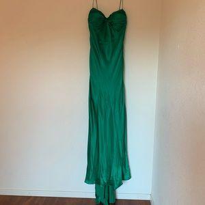 Jovani Emerald Green Evening Gown